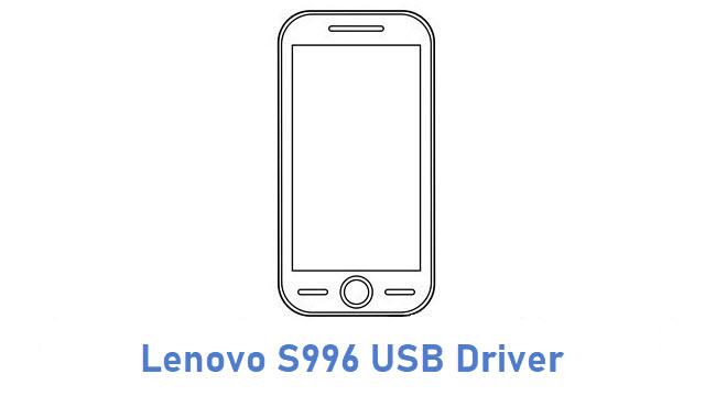 Lenovo S996 USB Driver