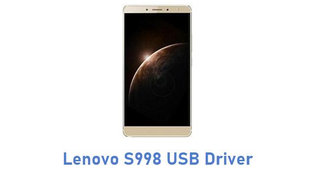 Lenovo S998 USB Driver