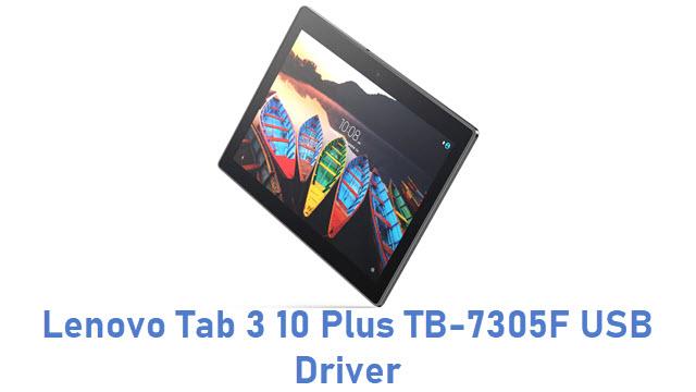 Lenovo Tab 3 10 Plus TB-7305F USB Driver