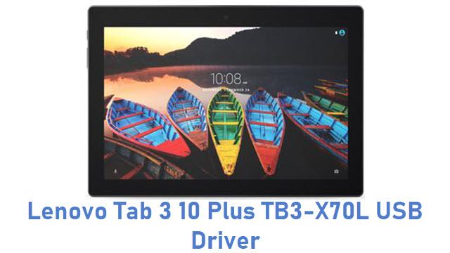 Lenovo Tab 3 10 Plus TB3-X70L USB Driver