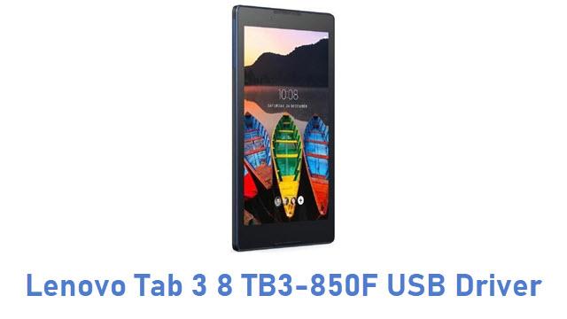 Lenovo Tab 3 8 TB3-850F USB Driver