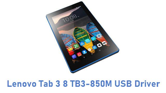 Lenovo Tab 3 8 TB3-850M USB Driver