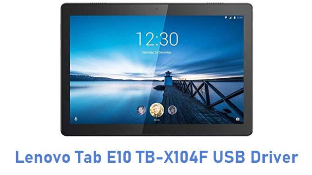 Lenovo Tab E10 TB-X104F USB Driver