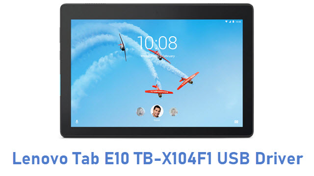Lenovo Tab E10 TB-X104F1 USB Driver