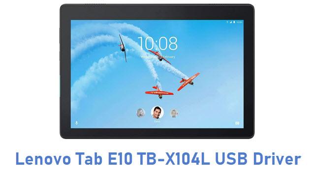 Lenovo Tab E10 TB-X104L USB Driver