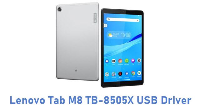 Lenovo Tab M8 TB-8505X USB Driver