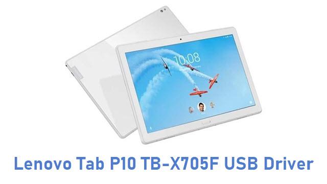 Lenovo Tab P10 TB-X705F USB Driver