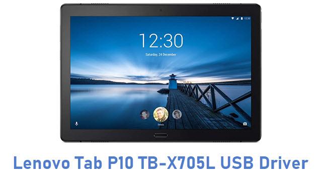 Lenovo Tab P10 TB-X705L USB Driver