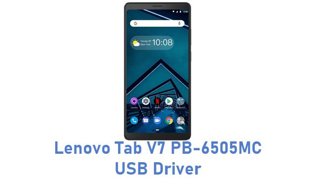 Lenovo Tab V7 PB-6505MC USB Driver