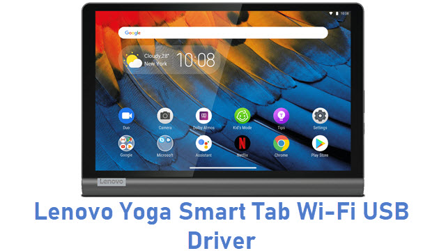 Lenovo Yoga Smart Tab Wi-Fi USB Driver