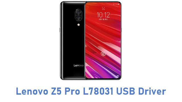 Lenovo Z5 Pro L78031 USB Driver