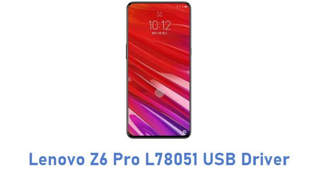 Lenovo Z6 Pro L78051 USB Driver