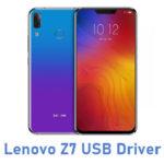 Lenovo Z7 USB Driver