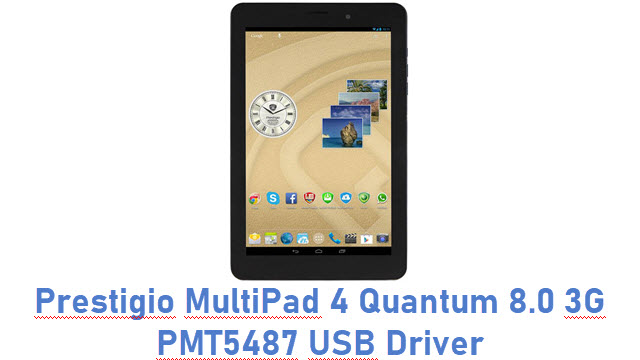Prestigio MultiPad 4 Quantum 8.0 3G PMT5487 USB Driver