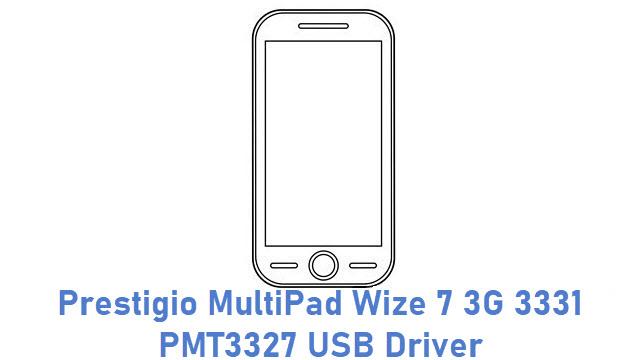 Prestigio MultiPad Wize 7 3G 3331 PMT3327 USB Driver