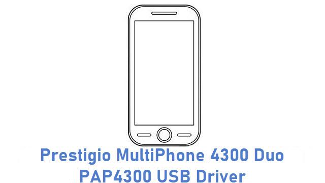 Prestigio MultiPhone 4300 Duo PAP4300 USB Driver