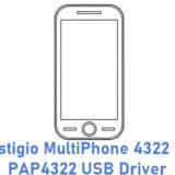 Prestigio MultiPhone 4322 Duo PAP4322 USB Driver