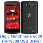 Prestigio MultiPhone 4500 Duo PAP4500 USB Driver