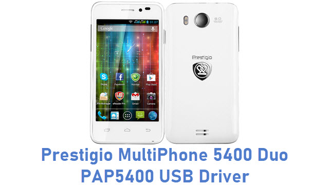 Prestigio MultiPhone 5400 Duo PAP5400 USB Driver