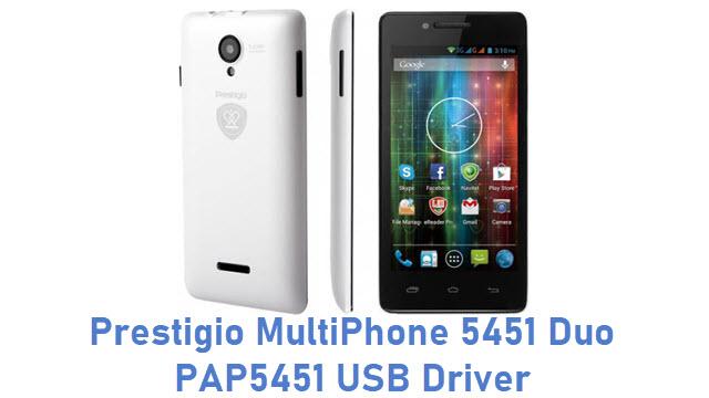 Prestigio MultiPhone 5451 Duo PAP5451 USB Driver