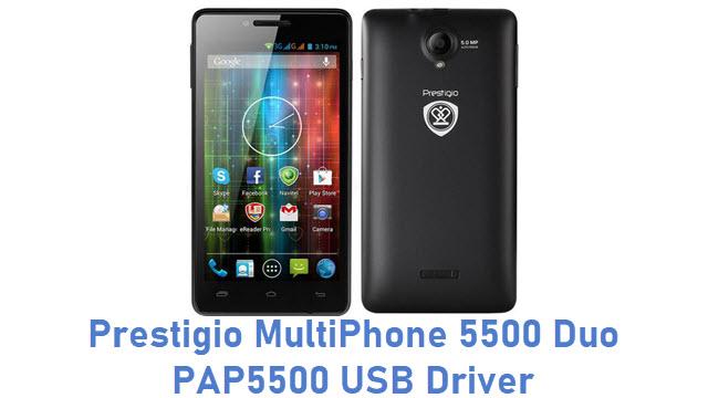 Prestigio MultiPhone 5500 Duo PAP5500 USB Driver