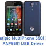 Prestigio MultiPhone 5501 Duo PAP5501 USB Driver