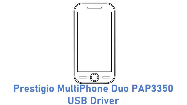 Prestigio MultiPhone Duo PAP3350 USB Driver