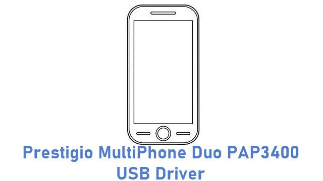 Prestigio MultiPhone Duo PAP3400 USB Driver