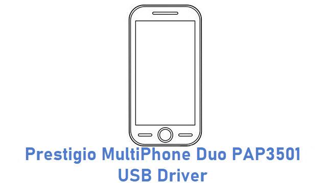 Prestigio MultiPhone Duo PAP3501 USB Driver