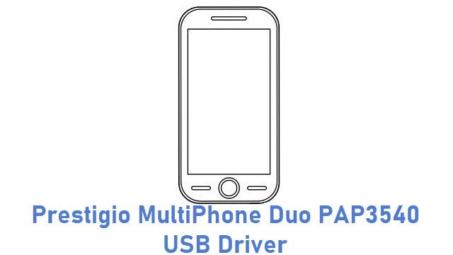 Prestigio MultiPhone Duo PAP3540 USB Driver