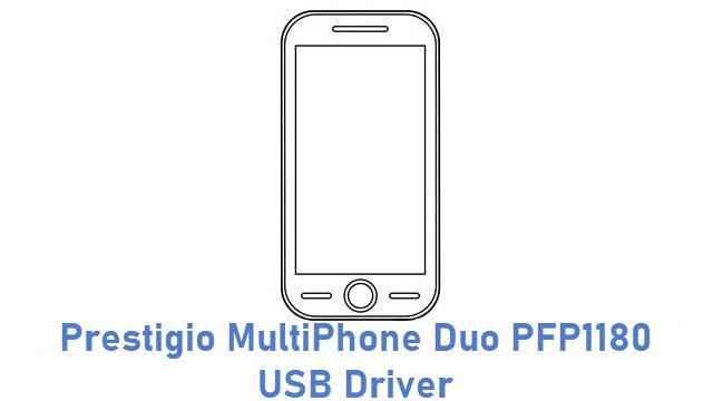 Prestigio MultiPhone Duo PFP1180 USB Driver