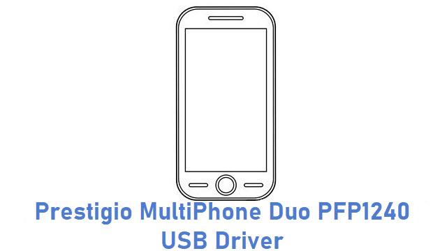 Prestigio MultiPhone Duo PFP1240 USB Driver
