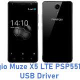 Prestigio Muze X5 LTE PSP5518 DUO USB Driver