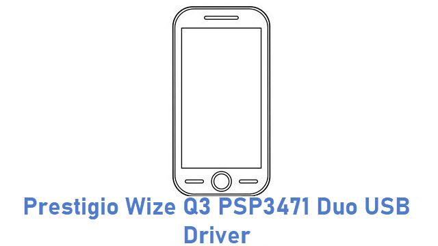 Prestigio Wize Q3 PSP3471 Duo USB Driver