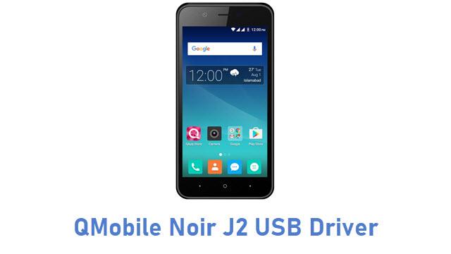 QMobile Noir J2 USB Driver