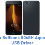 Sharp Softbank 506SH Aquos Xx3 USB Driver