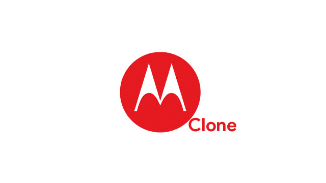 Motorola Clone USB Drivers