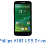 Philips V387 USB Driver