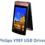 Philips V989 USB Driver