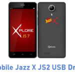 Qmobile Jazz X JS2 USB Driver