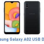 Samsung Galaxy A02 USB Driver