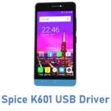 Spice K601 USB Driver