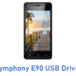Symphony E90 USB Driver