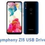 Symphony Z15 USB Driver