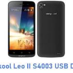Verykool Leo II S4003 USB Driver