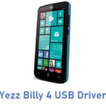 Yezz Billy 4 USB Driver