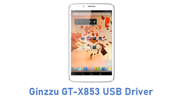 Ginzzu GT-X853 USB Driver