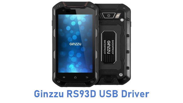 Ginzzu RS93D USB Driver