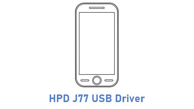 HPD J77 USB Driver