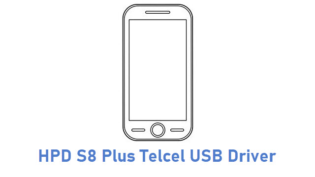 HPD S8 Plus Telcel USB Driver